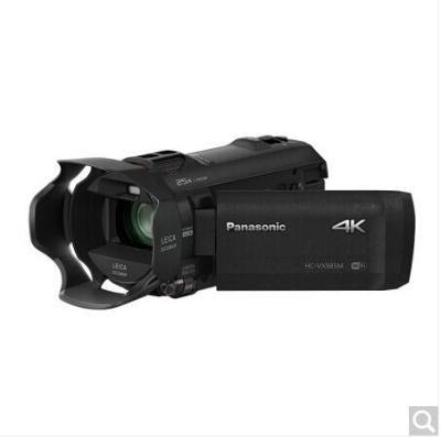 松下(Panasonic)HC-VX985MGK 4K数码摄像机(4K视频、新4K裁切、仿电影效果、 光学20倍变焦),内置内存64GB