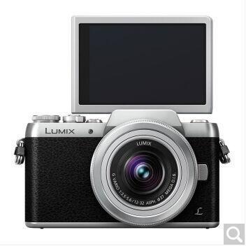 松下(Panasonic)DMC-GF8KGK 微单数码相机 WIFI传输 翻转美颜自拍 古典银色 官方配置