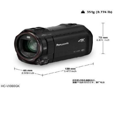 松下    HC-WX980GK 数码摄像机