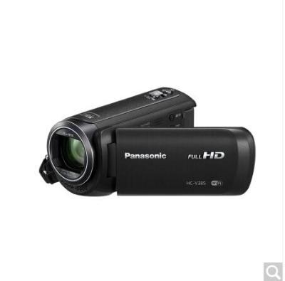 松下 HC-V385GK黑色高清数码摄像机
