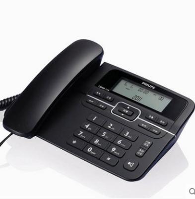 飞利浦CORD118 固定电话机家用座式 免电池 办公商务座机电话包邮
