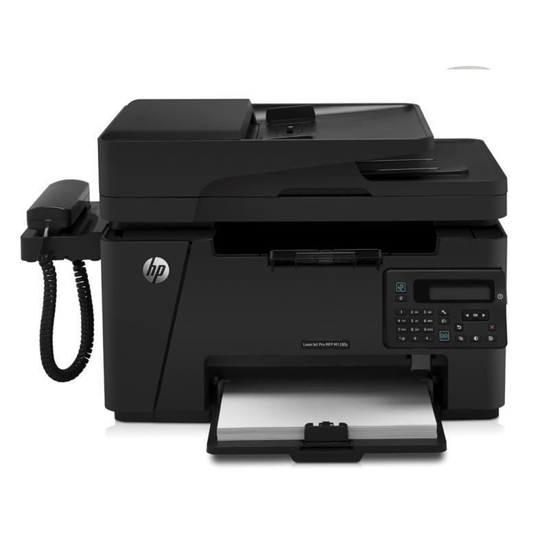 惠普(HP)LaserJet Pro MFP M128fp 多功能一体机(打印、复印、扫描、传真)