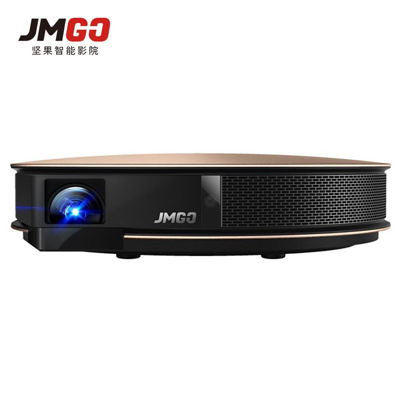 坚果(JmGO)G3 Pro 办公家用高清便携式投影机智能无线3D微型迷你手机影院无屏电视