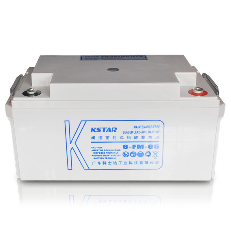 科士达(KSTAR)铅酸蓄电池 UPS不间断电源 6-FM-65