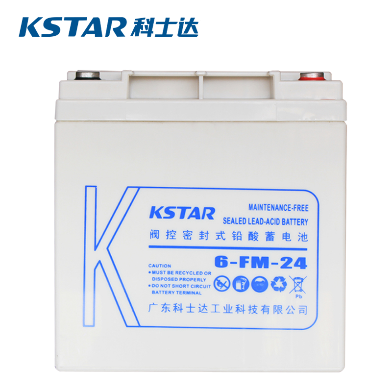 科士达(KSTAR)12V24AH 铅酸蓄电池 6-FM-24