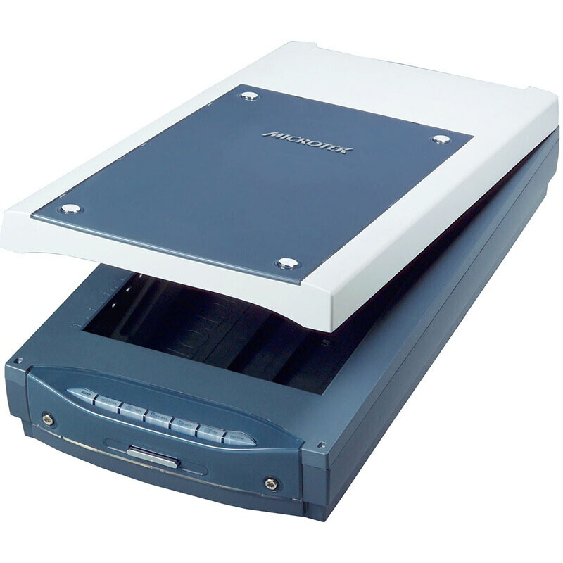 中晶(microtek) ScanMaker i800 plus 平板式扫描仪