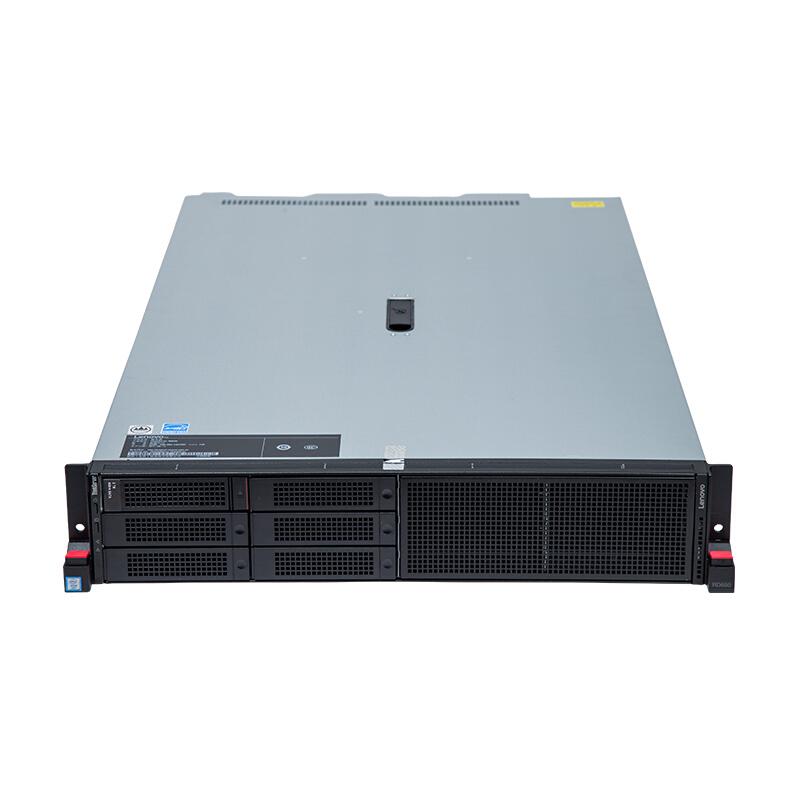 """联想(Lenovo)TS RD650,1xE5-2609v4,8GB DDR4,6x3.5""""盘位,2TB SATA,板载R110i Raid 0,1,550W白金 2U 机架式服务器"""