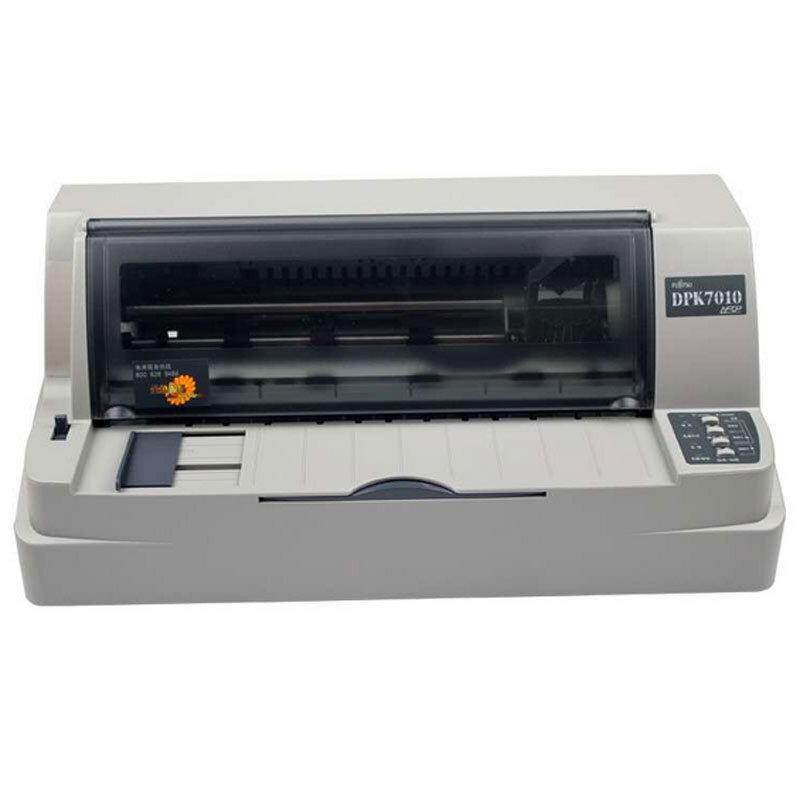 富士通(Fujitsu)DPK7010针式打印机(80列平推式)票证打印 自动调节纸