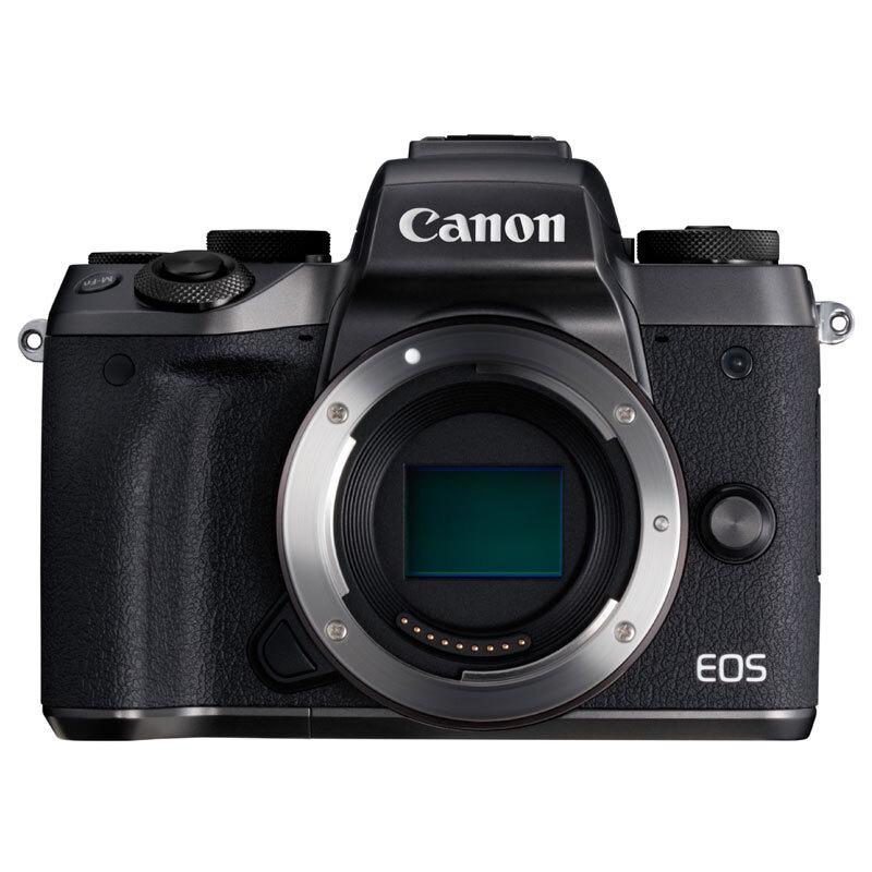 佳能微单 (Canon) EOS M5 黑色机身(2420万像素 触控翻转LCD 专业电子取景器 全像素双核对焦)