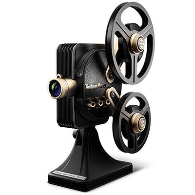 坚果(JmGO)1895 电影机 投影仪 投影机家用(1080P全高清 1200流明 复古机械操作)