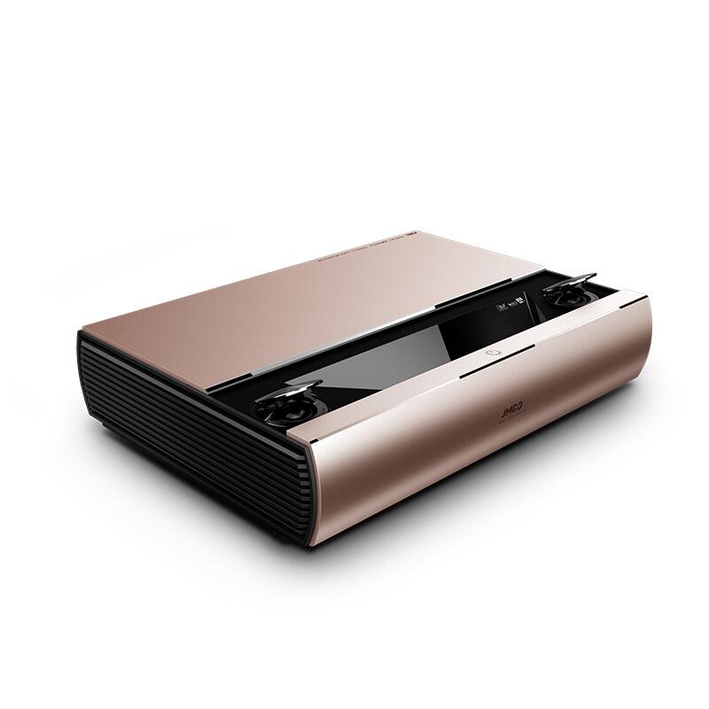 坚果(JmGO)SA 便携投影机 1080P 全高清 家庭影院 超短焦 激光 家用 办公 手机 投影仪