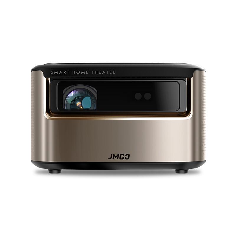 坚果(JmGO)V9 投影仪 投影机家用(1080P全高清 四方梯形校正 瞬时自动对焦 智能影院)