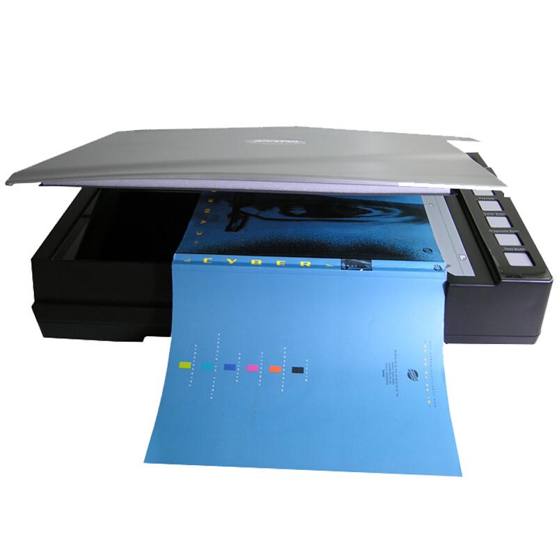精益(Plustek) OpticBook A300 零边距快速书籍A3高清彩色扫描仪