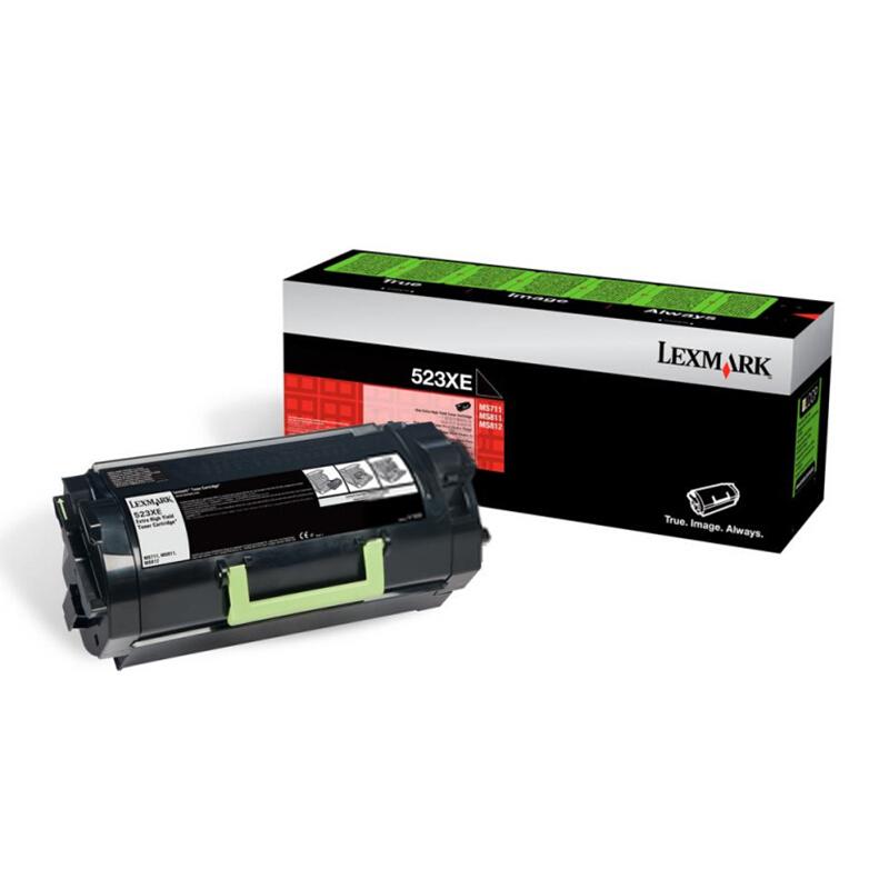 利盟(Lexmark)52D3X0E黑色超高容粉盒(适用于:MS810/811dn/812de)