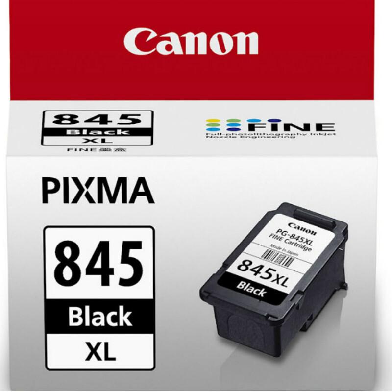 佳能(Canon)PG-845XL 黑色墨盒(适用于:腾彩PIXMA MG2400  腾彩PIXMA MG2580  MX498)