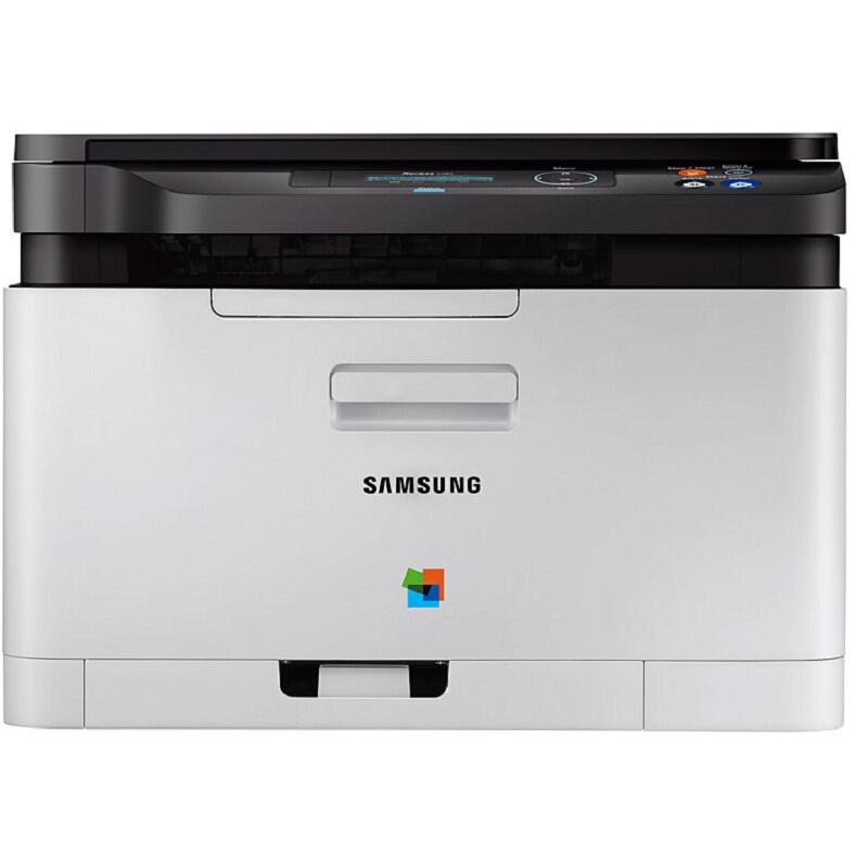 三星(SAMSUNG)SL-C480 彩色激光多功能一体机 (打印 复印 扫描)