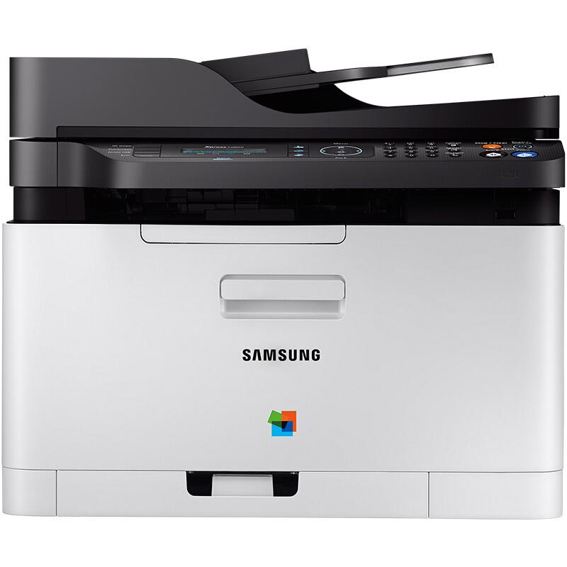 三星(SAMSUNG)SL-C480FW 彩色激光多功能一体机 (打印 复印 扫描 传真)