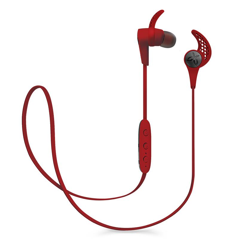 罗技(Logitech)aybird X3 Wireless 无线蓝牙运动耳机 魂动红