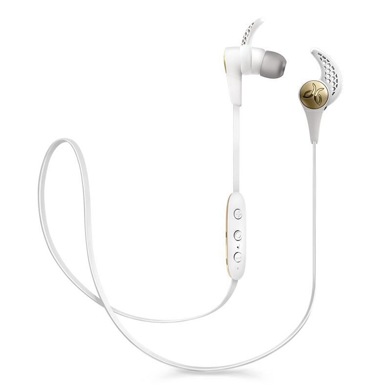 罗技(Logitech)Jaybird X3 Wireless 无线蓝牙耳机 清新白