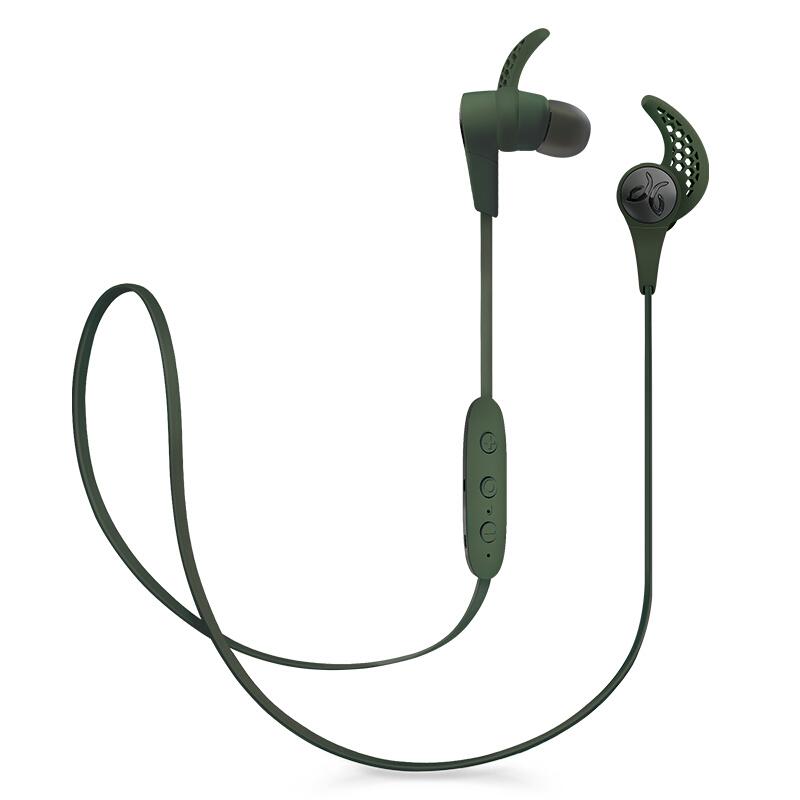 罗技(Logitech)Jaybird X3 Wireless 无线蓝牙耳机 战狼绿