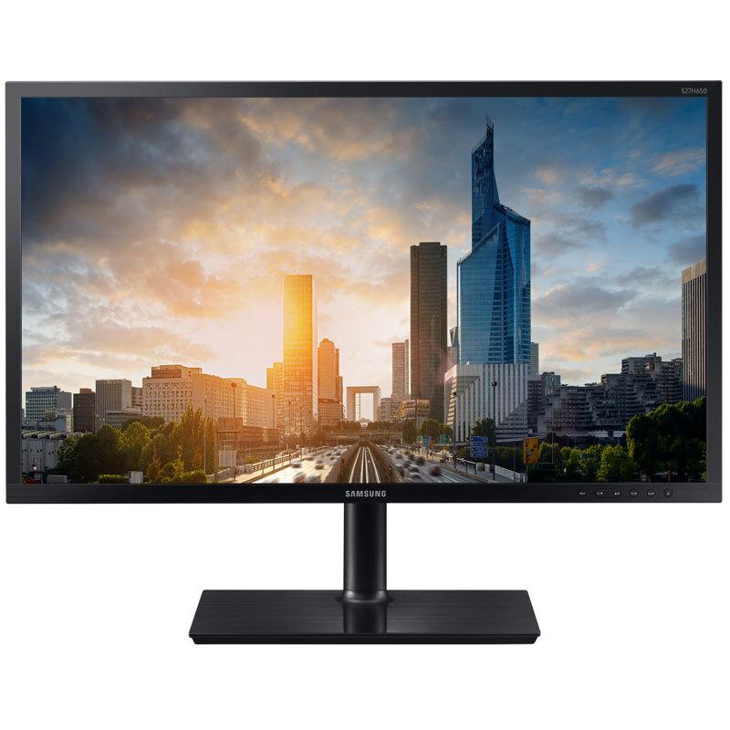 三星(SAMSUNG)S27H650FDC 27英寸广视角旋转升降商用电脑显示器