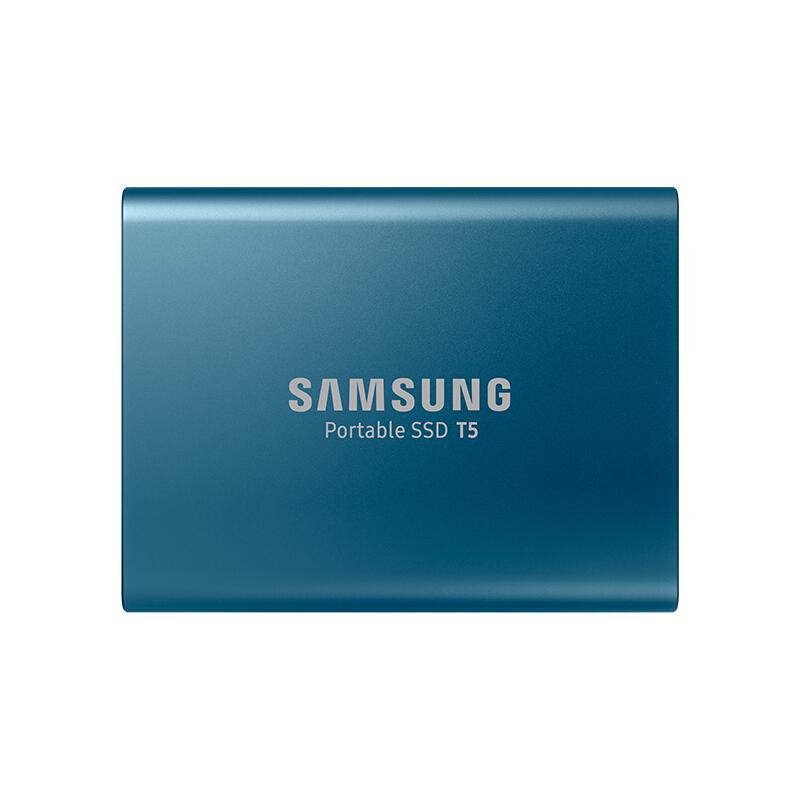 三星(SAMSUNG) PSSD移动固态硬盘 T5系列-250G 极速小巧安全存储 便携坚固耐用(MU-PA250B/CN)