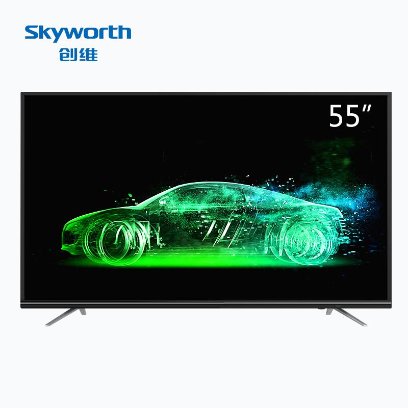 創維(Skyworth)55M9 55英寸人工智能豐富教育資源HDR 4K超高清智能網絡液晶電視機