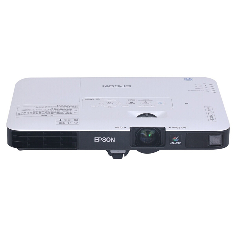 爱普生(EPSON) CB-1785W 商务会议办公轻薄便携无线高清投影仪 投影机( 短距离投影 屏幕镜像功能)