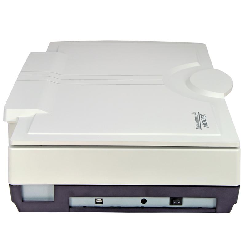 中晶(microtek)FileScan 1660XL plus A3彩色高清扫描仪白色平板式扫描仪