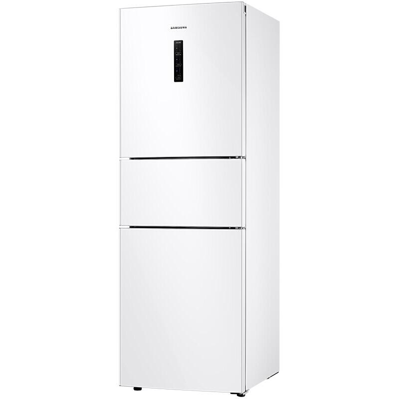 三星(SAMSUNG)280升风冷无霜智能变频三门冰箱 全环绕气流 全开式抽屉RB27KCFJ0WW/SC(白)