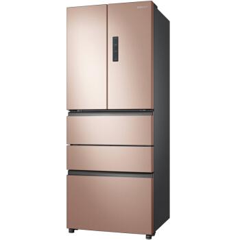 三星(SAMSUNG)450升风冷无霜变频多门冰箱 全环绕气流 节能静音 宽带变温RN40KD8J0FE/SC(金)
