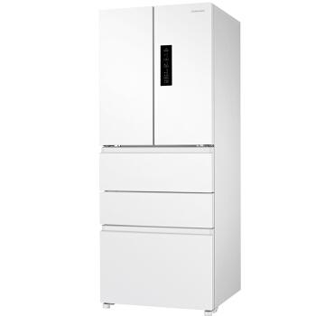 三星(SAMSUNG)450升风冷无霜多门冰箱 智能变频 全环绕气流 节能静音 速冻RN40KD8J0WW/SC(白)