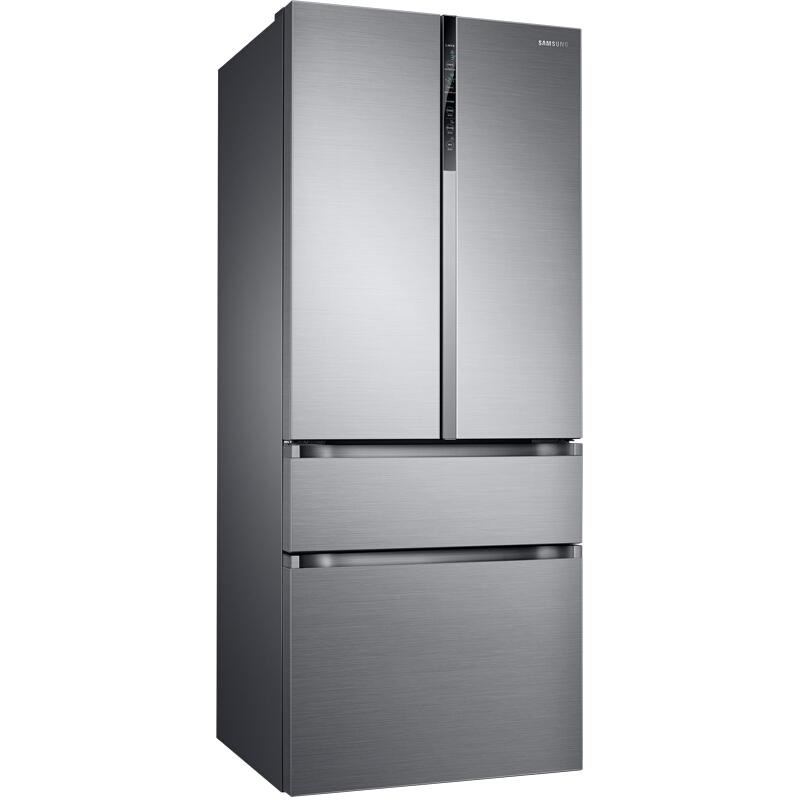 三星(SAMSUNG)510升多门冰箱 保湿双循环精致保鲜 智能变频 金属匀冷 RF50MCBC0S8/SC(银)