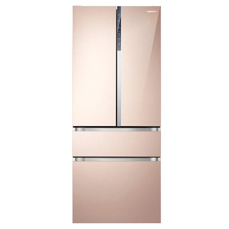 三星(SAMSUNG)510升多门冰箱 智能变频 双循环精致保鲜 金属匀冷却 节能静音RF50MCBH0FE/SC(金)
