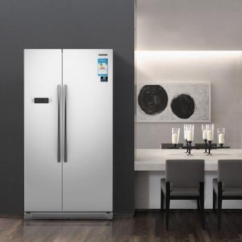 三星(SAMSUNG)545升大容量风冷无霜对开门冰箱 智能变频 节能静音 速冻RS542NCAEWW/SC(白)