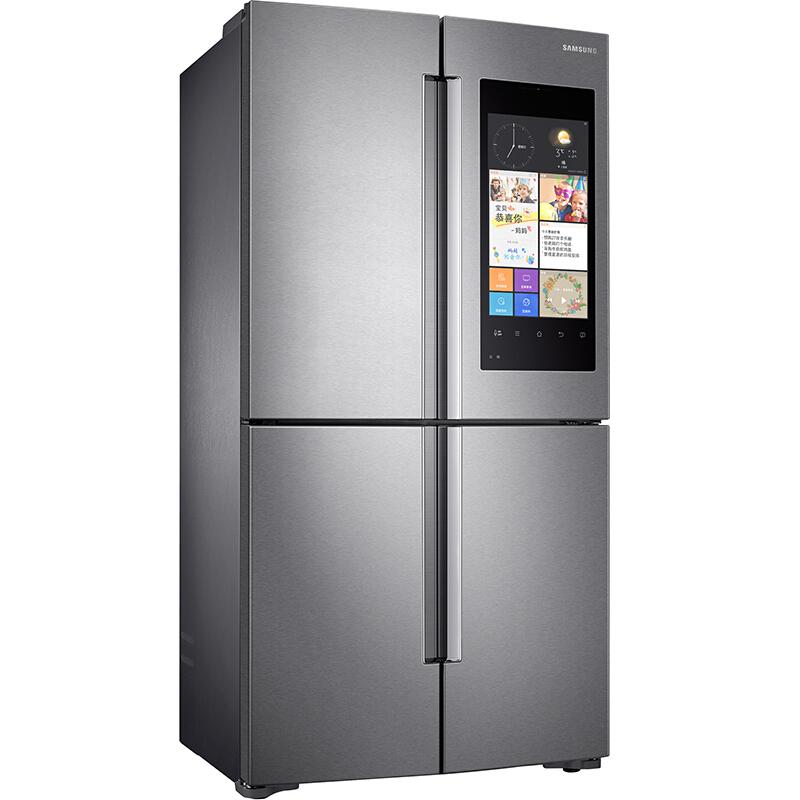 三星(SAMSUNG)652升大容量多门冰箱 十字对开 金属匀冷却 精致保鲜 智能互联RF60K9560SR(银 )