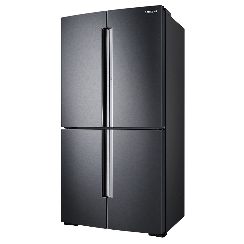 三星(SAMSUNG)654升大容量风冷无霜多门冰箱 智能变频 蝶门美食窗 精致保鲜RF65M9371M1(黑)