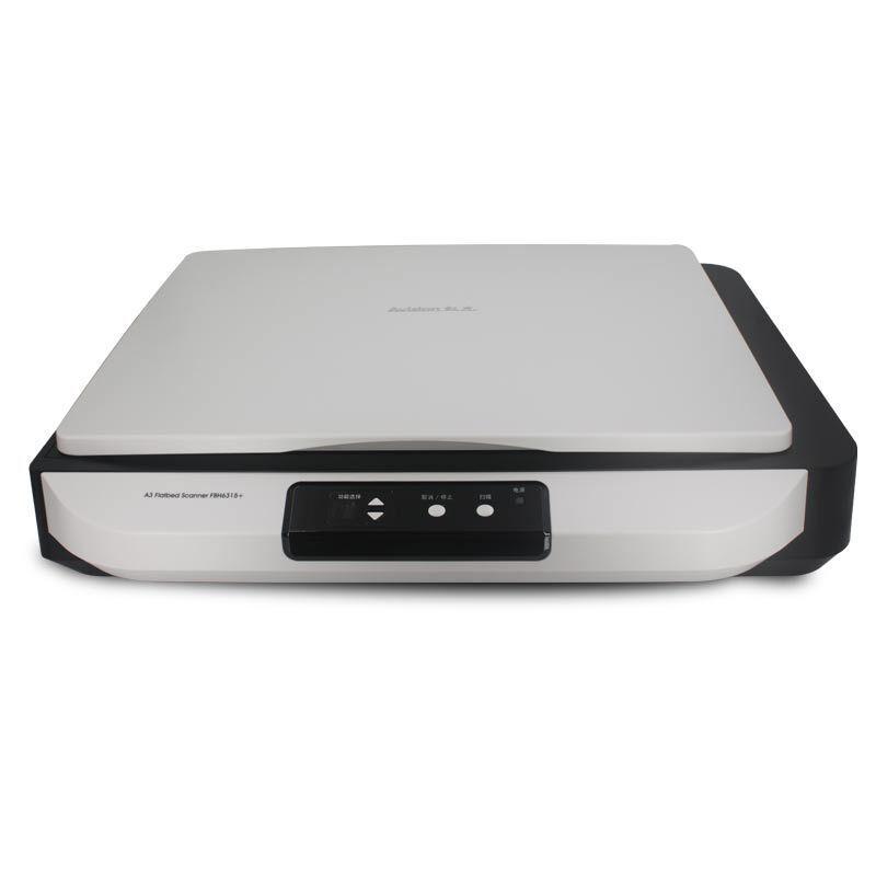 虹光(Avision) AW6060+ 高清扫描仪A3高速扫描仪文档照片扫描平板扫描仪