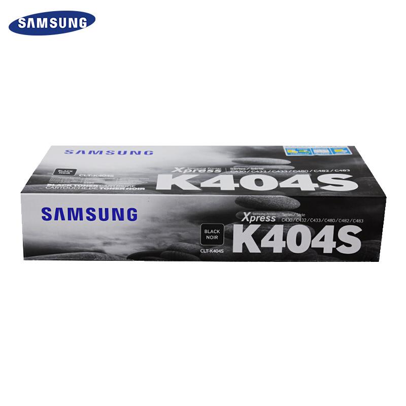 三星(SAMSUNG)CLT-K404S黑色粉盒(适用于:C480/C430)