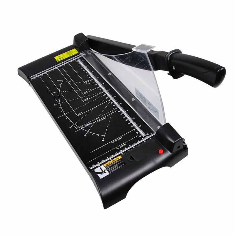 可得优(KW-triO) 激光定位裁纸刀办公裁纸机相片裁刀手握切纸机  13036激光定位裁纸刀(A4)