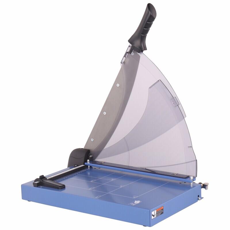 可得优(KW-triO)A4钢制切纸刀 手压式裁纸刀/切刀裁纸机/切纸机手动裁纸机 13040裁纸刀(A4)(可裁40页)