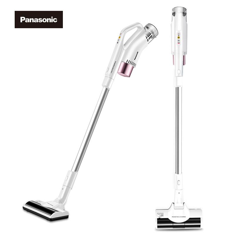 松下(Panasonic)吸尘器MC-8D56DPJ81充电式无线真空家用手持系列(玫瑰金)