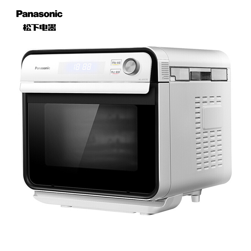 松下(Panasonic)NU-JA101W 家用蒸烤箱15L多功能 空气炸烘焙发酵餐具消毒电烤箱