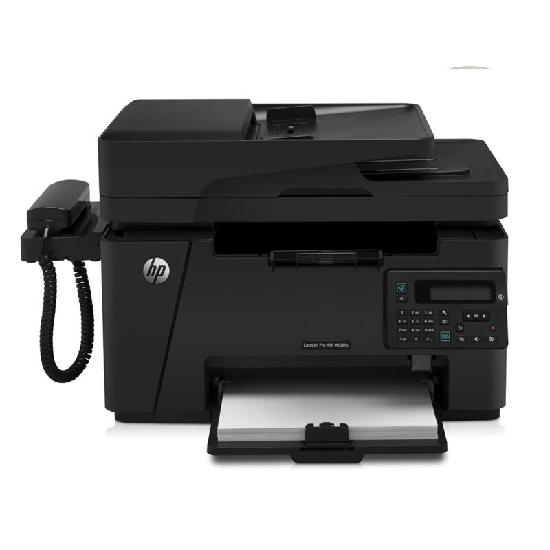 惠普(HP)LaserJet Pro MFP M128fp 多功能一體機(打印、復印、掃描、傳真)