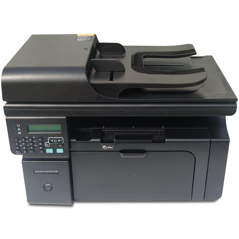 惠普(HP)LaserJet Pro M1219nf 多功能激光一體機 (打印 復印 掃描 傳真)