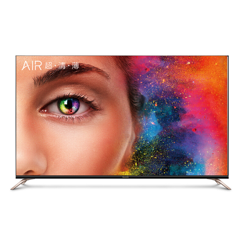創維(Skyworth)55Q7 55英寸 4K超高清 智能 超薄液晶人工智能電視