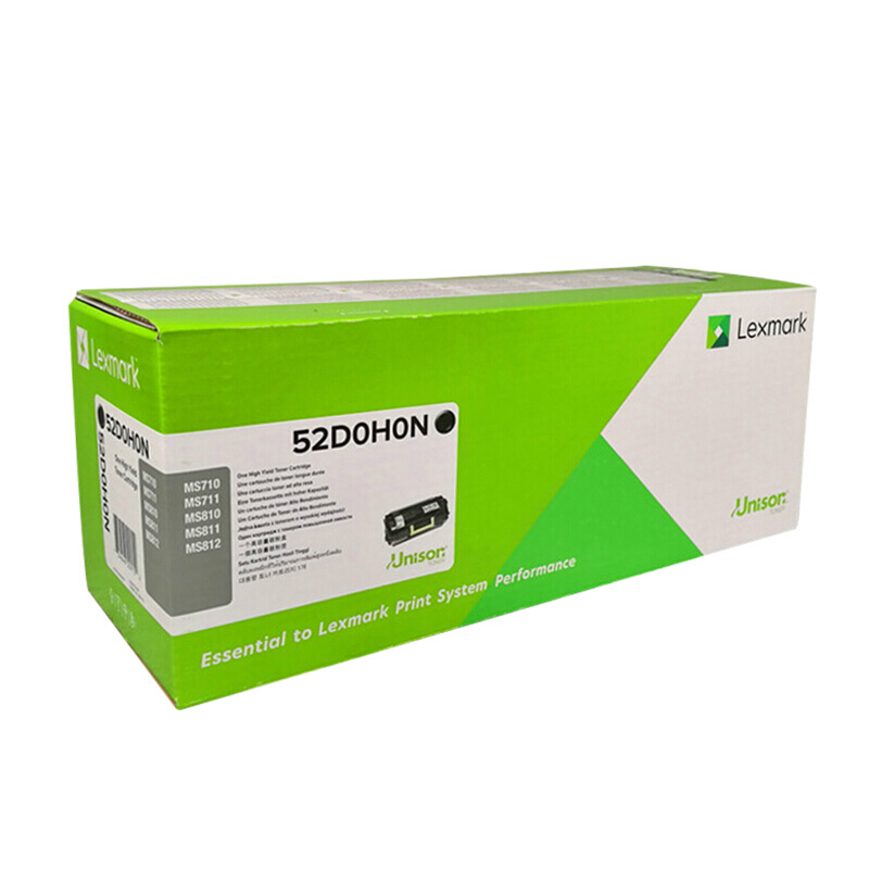 利盟(Lexmark)高容黑色粉盒52D0H0N(適用于:MS710/MS711)