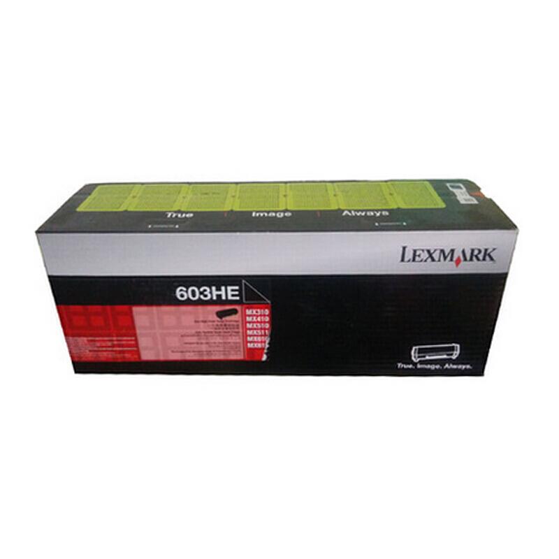 利盟(Lexmark)60F3H0E 黑色高容粉盒(適用于:MX310/410/51X/61X)